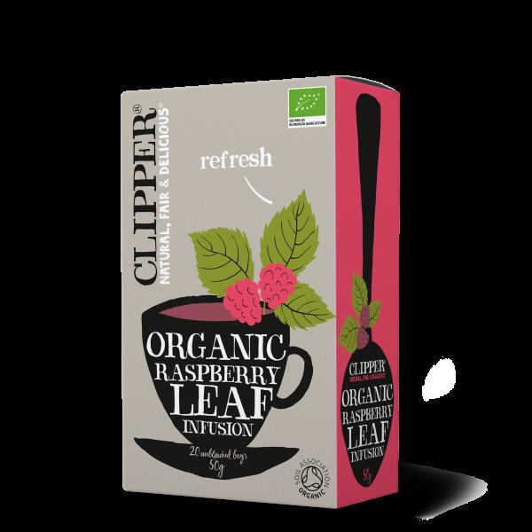 Organic Raspberry leaf infusion