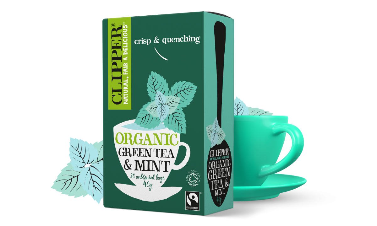 Organic Fairtrade Green Tea & Mint
