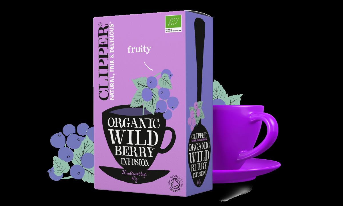 Organic wild berry infusion