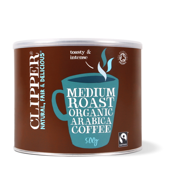 organic medium roast arabica coffee 500g