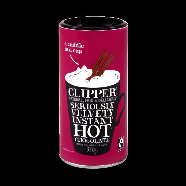 Velvet instant hot chocolate