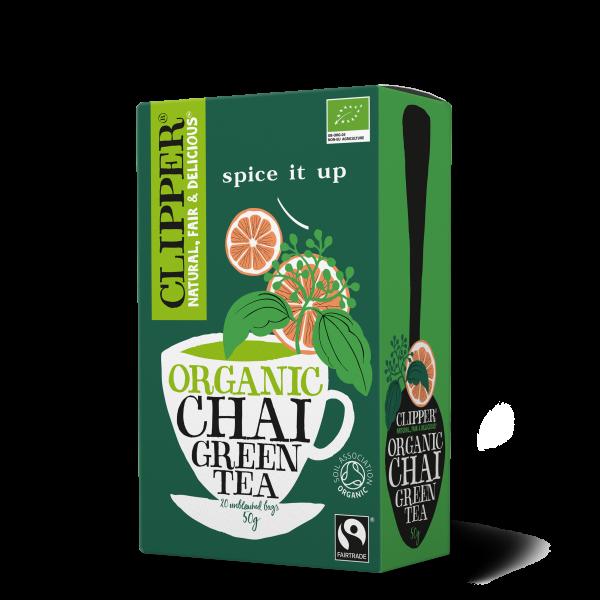Organic Fairtrade Chai Green Tea