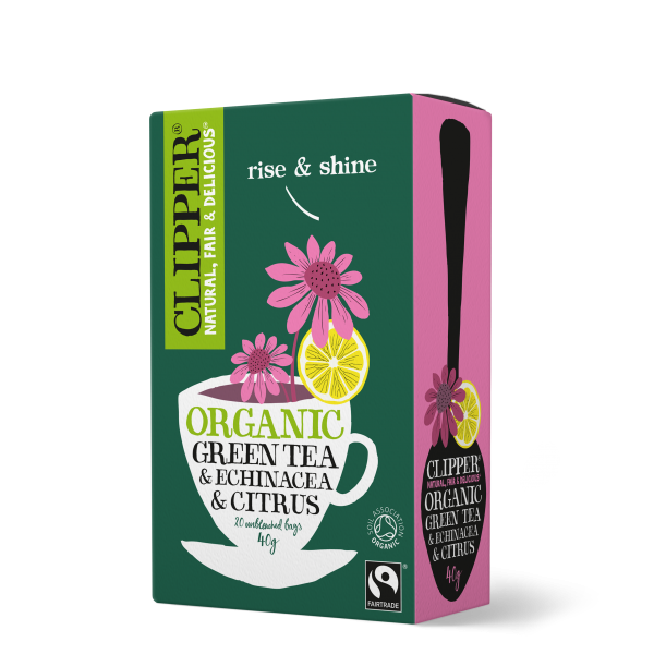 Organic Fairtrade Green Tea & Echinacea & Citrus