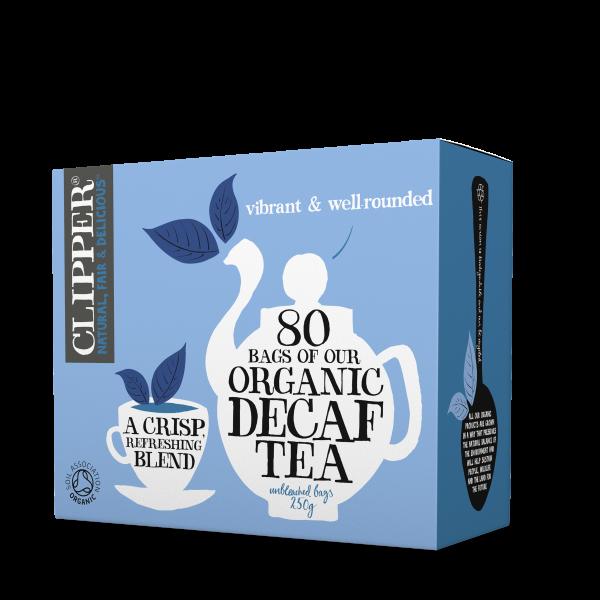 Organic decaf tea