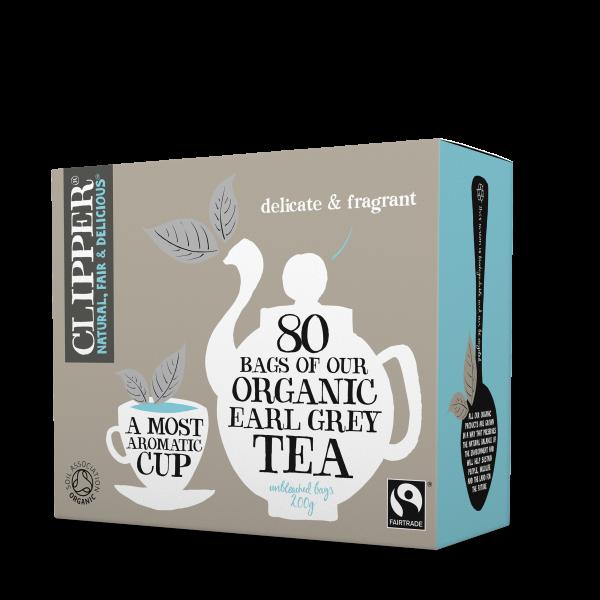 Organic earl grey tea