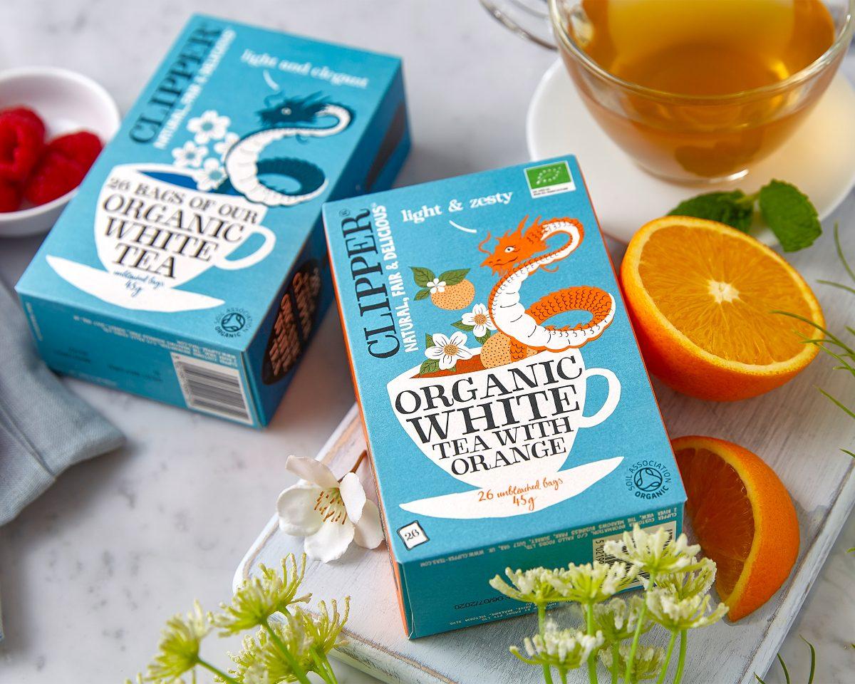 What does white tea lokk like?