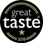 1 star Great Taste Award 2018