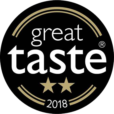 2 star Great Taste Award 2018