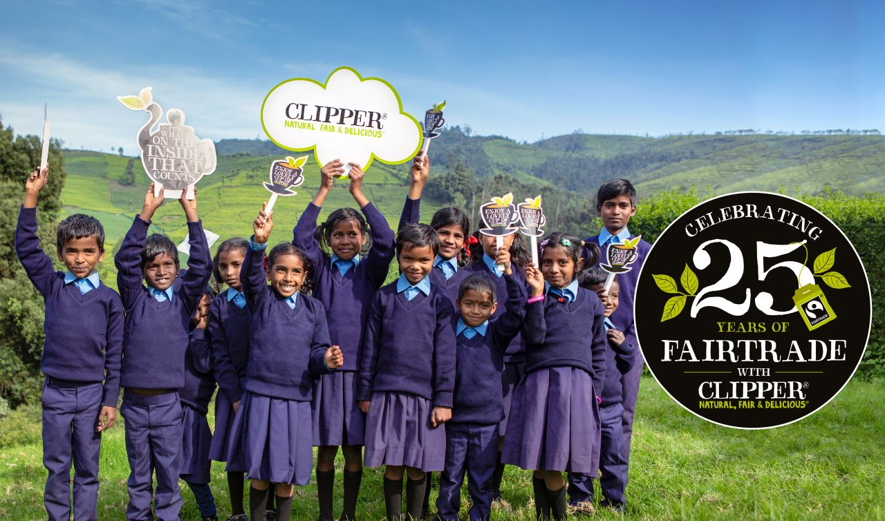 Clipper natural fair delicious 25 years fairtrade