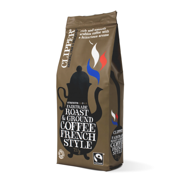 Fairtrade roast ground french style