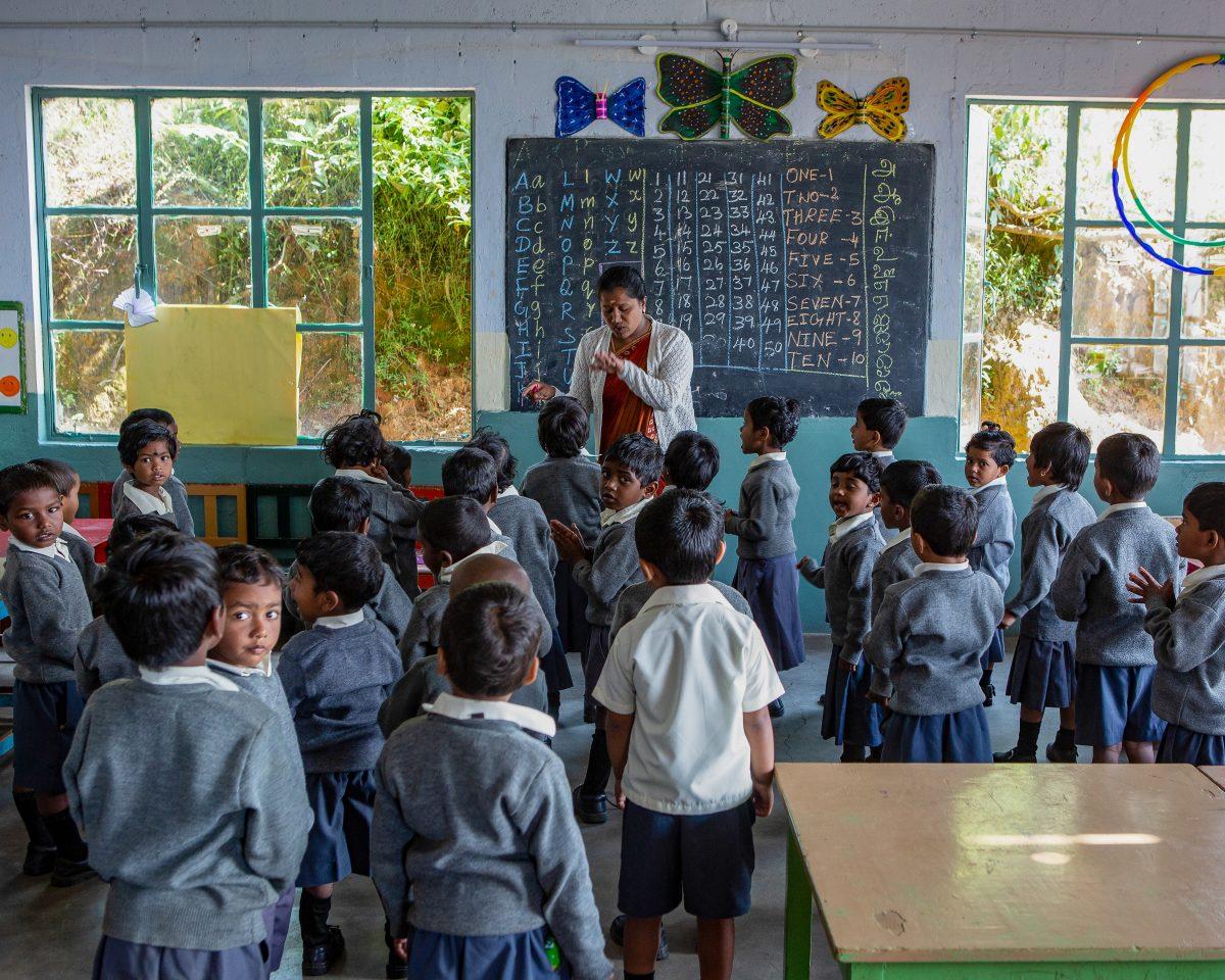 Hindi Tamil children Primary school