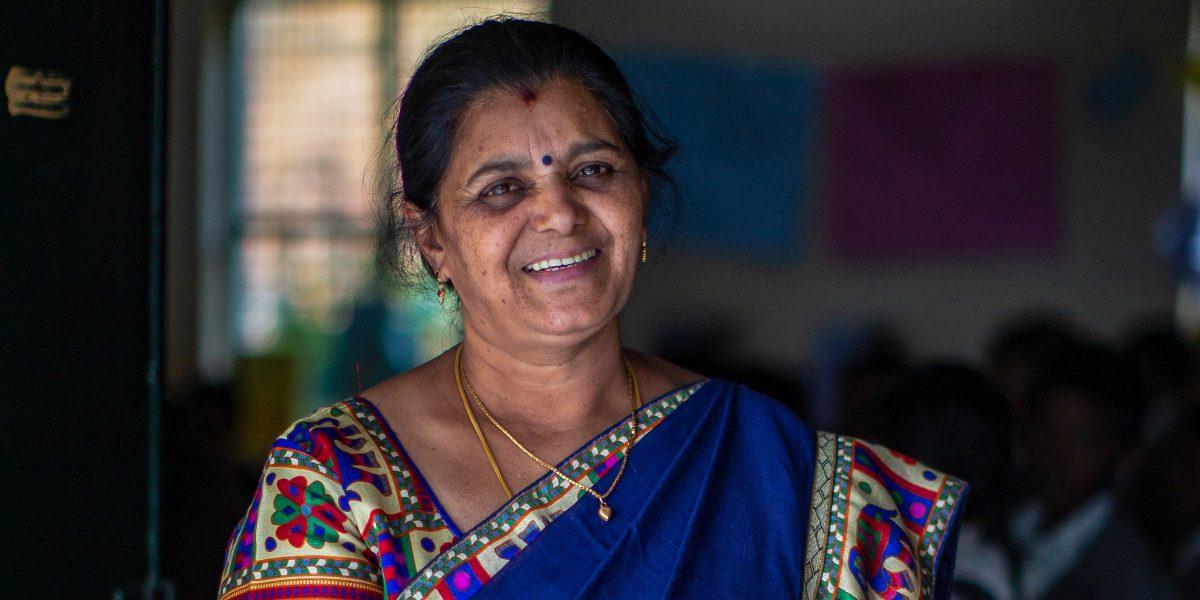 Miss Anuradha teacher Sivasailam School