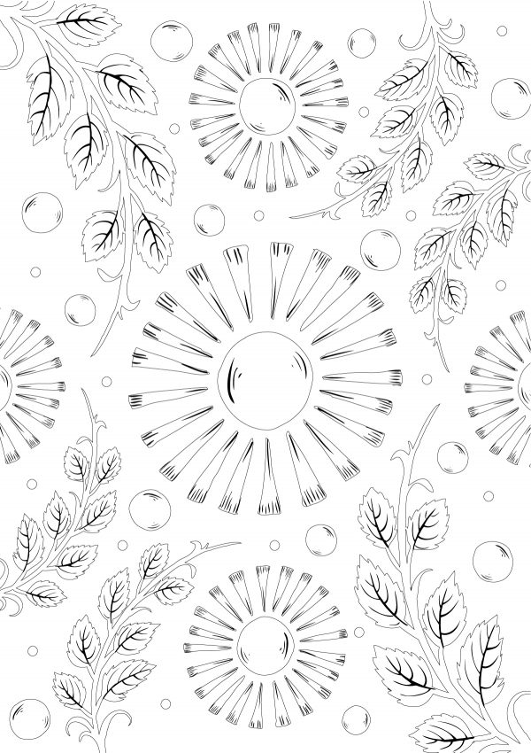 clipper sunshine colouring sheet