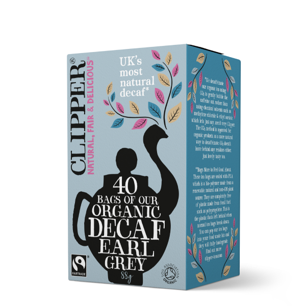 Clipper Teas Decaf Earl Grey 40s