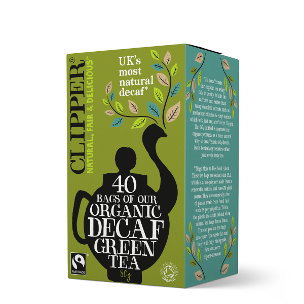 Clipper Teas Decaf Green 40s tea bags