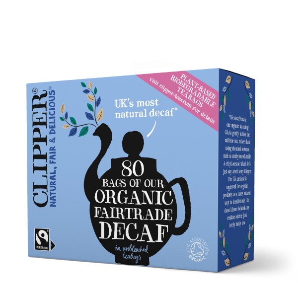 Clipper Tea Organic Fairtrade White Decaf Tea 80 tea bags