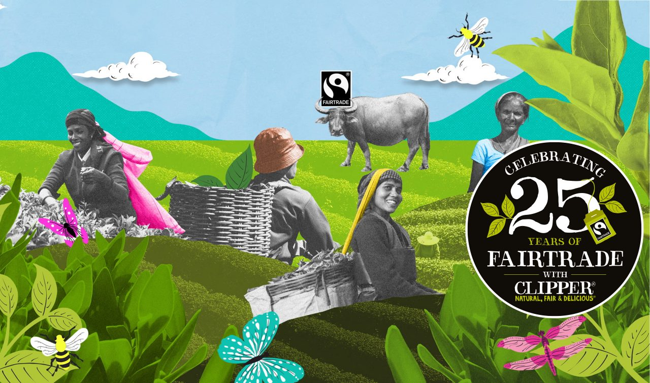 celebrating 25 years of fairtrade with Clippper