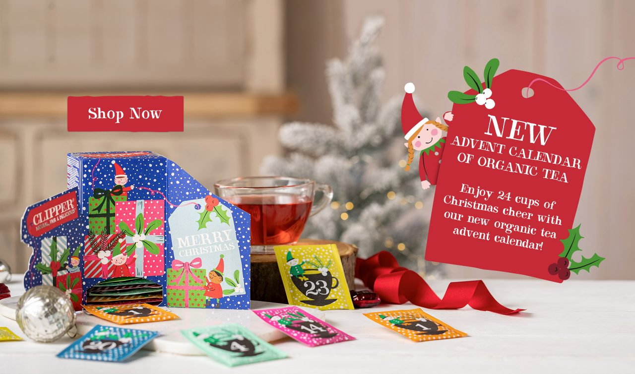 Clipper Organic Tea Advent Calendar