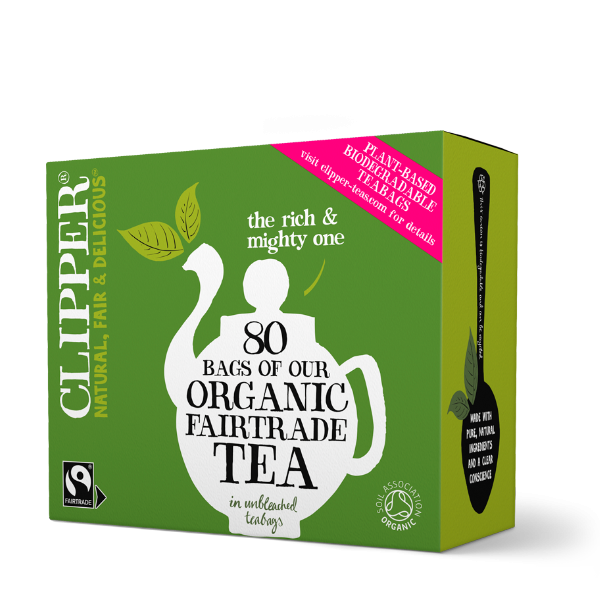 Clipper Tea Organic Fairtrade Everyday Tea Bags