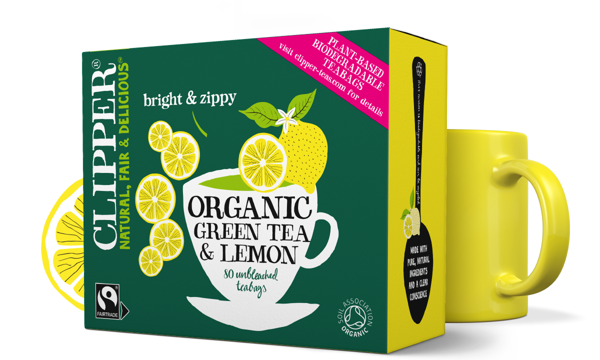 Clipper Organic Green Tea & Lemon