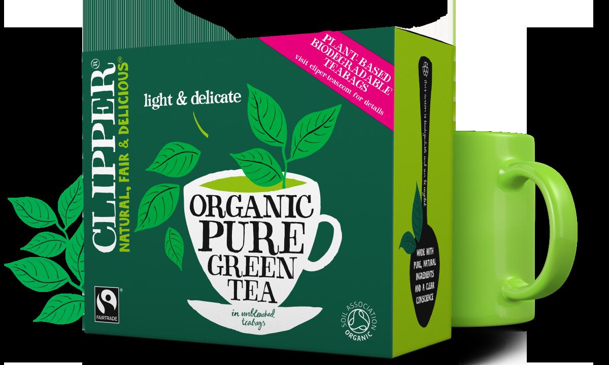 Clipper Tea Fairtrade Organic Pure Green Tea