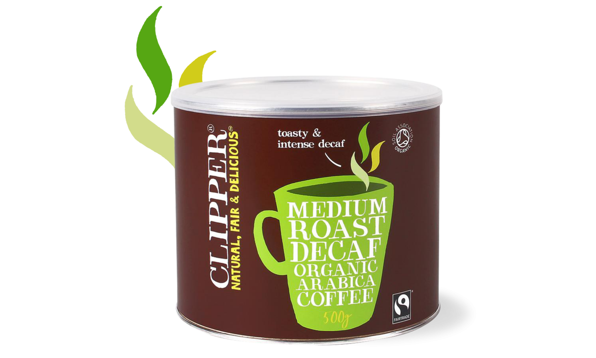 Clipper Medium Roast Decaf Arabica Coffee