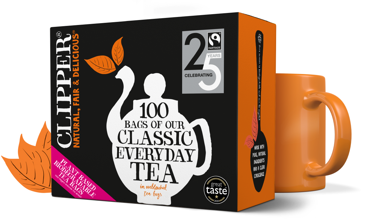 Clipper Tea Classic Everyday Fairtrade Tea