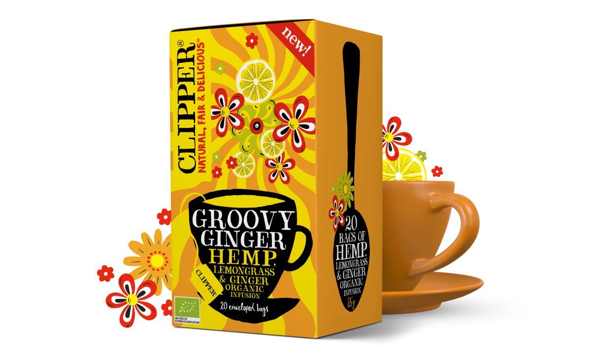 Grroovy Ginger Mood infusion