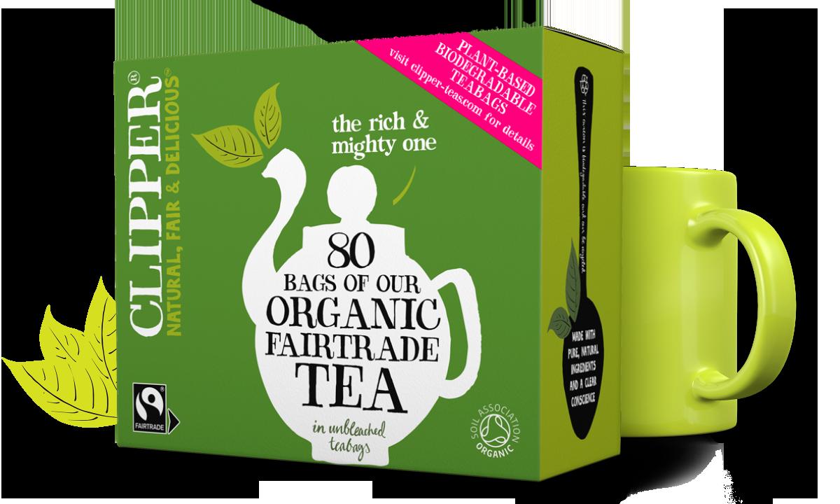 Clipper Tea Organic Fairtrade Everyday Tea Bags