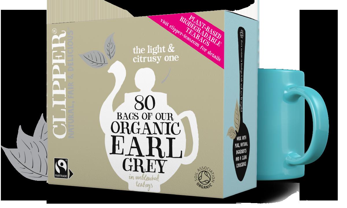 Clipper Tea Fairtrade Organic Earl Grey 80s